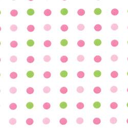 Doodlefish Spring Paisley Crib Sheet