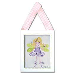Doodlefish Fairy Blonde Wall Hanging