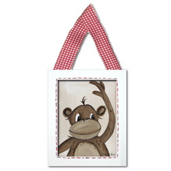 Doodlefish Monkey Wall Hanging