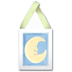Doodlefish Moon Wall Hanging
