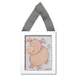 Pig Wall Hanging