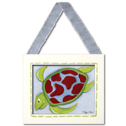 Doodlefish Sea Turtle Wall Hanging