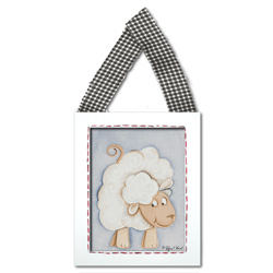 Doodlefish Sheep Wall Hanging