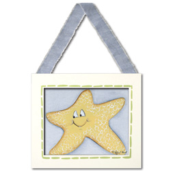 Doodlefish Starfish Wall Hanging