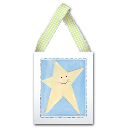 Doodlefish Star Wall Hanging