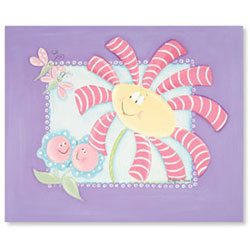Doodlefish Flower Friends Canvas Art