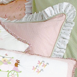 Doodlefish Princess Standard Pillow Sham