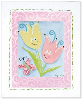 Doodlefish Tiptoe Tulips Artwork