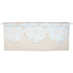 Baby Toile Valance