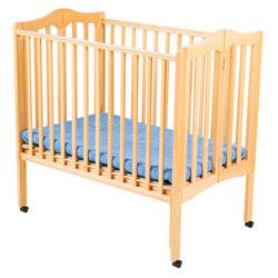Non Drop Side Foldable Portable Crib
