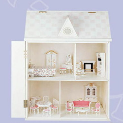 Teamson Child's Doll House Living Room Set