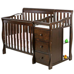 Jayden 2 in 1 Crib with Changer
