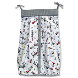 Trend Lab, LLC Dr. Seuss Cat in the Hat Diaper Stacker