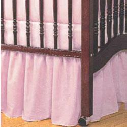 Baby Doll Standard Crib Solid Dust Ruffles