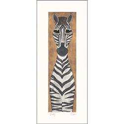 Dusty the Zebra Wall Art