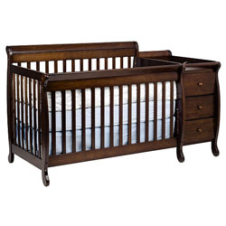 Million Dollar Baby Kalani Crib 'N Changer Combo