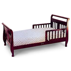 Angel Line Sleigh Style Toddler Bed