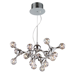 Molecular 15-Light Chandelier