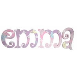 Emma's  Butterflies Letters