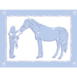 Art4Kids/Creative Images Equestrian Love II Wall Art