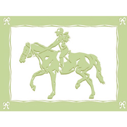 Art4Kids/Creative Images Equestrian Love I Wall Art