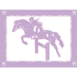 Art4Kids/Creative Images Equestrian Love III Wall Art