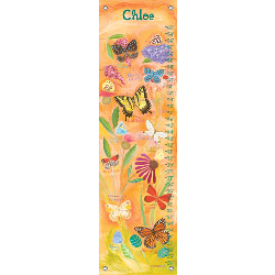 Exotic Butterflies Growth Chart