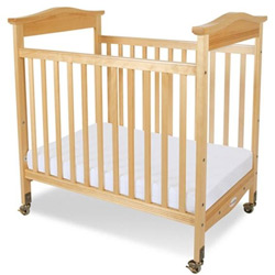 Foundations Biltmore Clearview Compact Size Crib