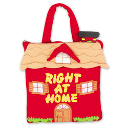 Right At Home Fabric Book