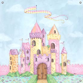 Fairy Castle Canvas Art