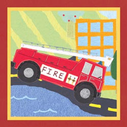 Art4Kids/Creative Images Rescue Fire Engine Artwork