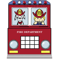 Fire Engine Twin Bed