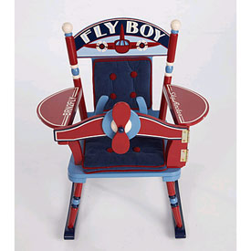 Levels Of Discovery Fly Boy Airplane Child Rocker