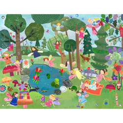 Oopsy Daisy/No Boundaries Forest Fairies Artwork