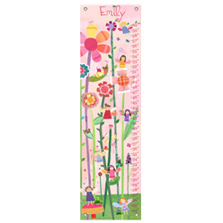 Oopsy Daisy/No Boundaries Woodland Fairies Personalized Growth Chart