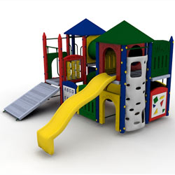 Fort Sumter Playground Set