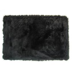 Flokati Rug Collection-Black