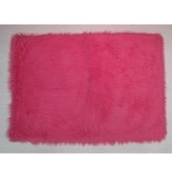 Flokati Rug Collection-Hot Pink