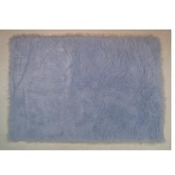 Flokati Rug Collection-Light Blue