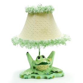 Just Too Cute Leap Frog Lamp