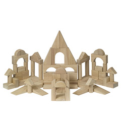 76 Piece Unit Block Set