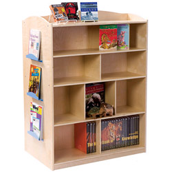 Guidecraft usa Double Sided Bookcase