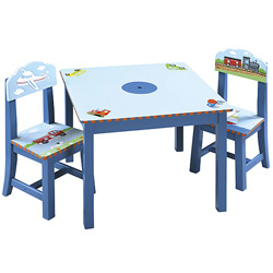 Guidecraft usa Transportation Table and Chair Set