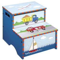 Guidecraft usa Transportation Storage Step-Up