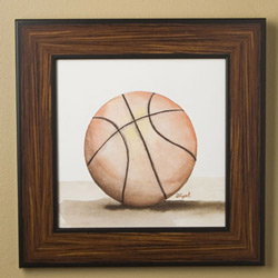 Basketball - Mac's Play Ball Series Print