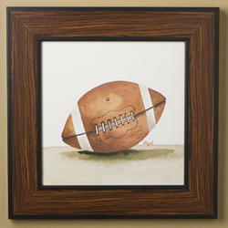 Football - Mac's Play Ball Series Print