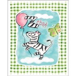 Art4Kids/Creative Images Gingham Zebra Wall Art