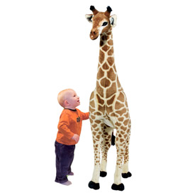 Giant Exotic Plush Giraffe