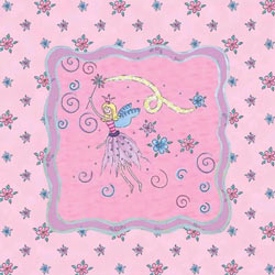 Art4Kids/Creative Images Glitter Fairy I Wall Art