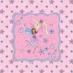 Art4Kids/Creative Images Glitter Fairy II Wall Art
